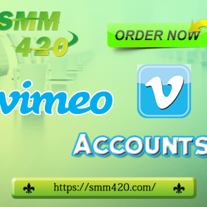 Buy Vimeo accounts